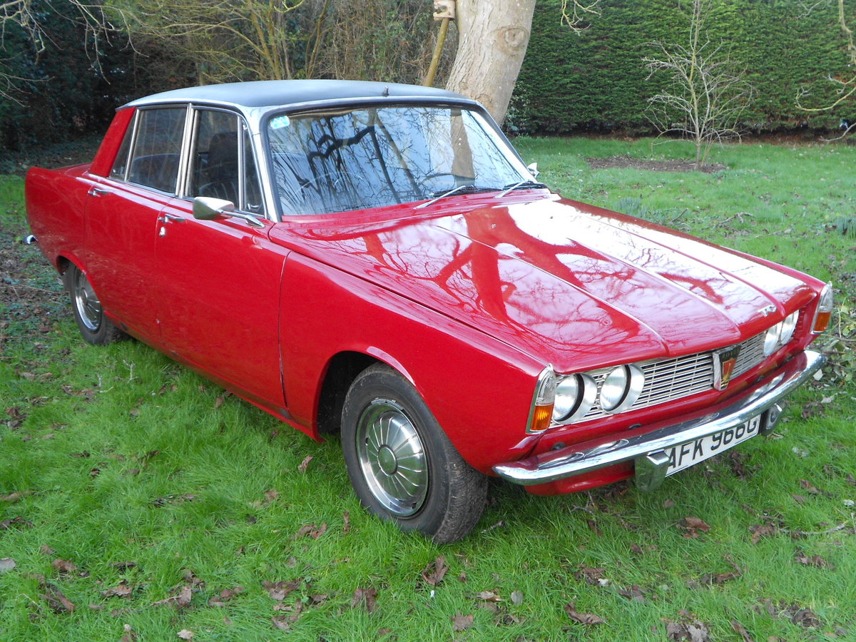 1969 ROVER P6 2000 TC * RESTORED * 3 OWNERS *      SOLD (picture 1 of 1)