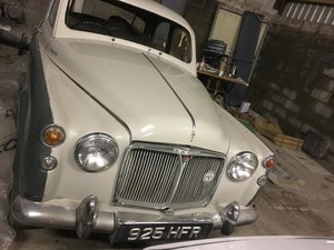 1961 Rover p4 110 unfinished project