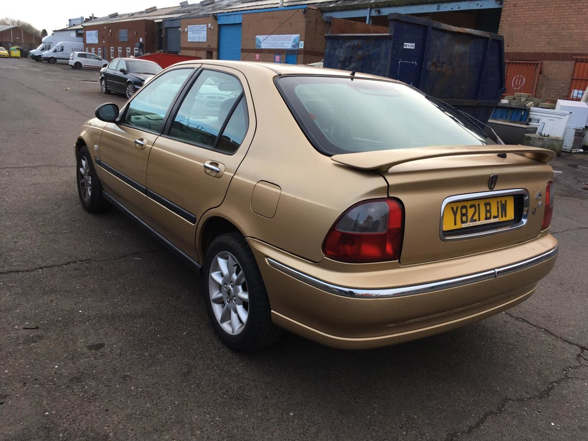 Low mileage 2001 Automatic Rover 45 iXS Hatchback SOLD (picture 4 of 6)