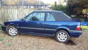 1997 manual Blue Rover Cabriolet For Sale