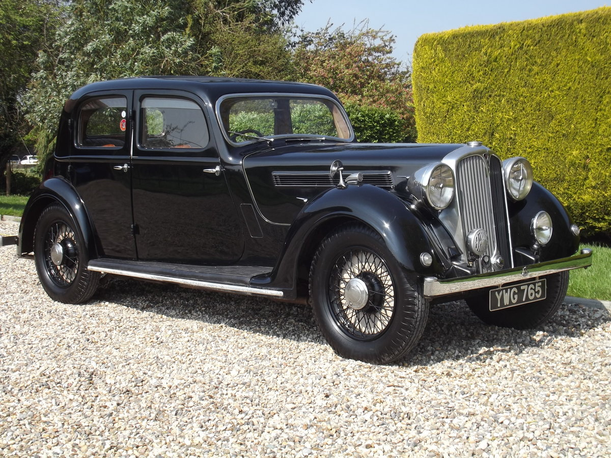 1937 Rover P2 Sports Saloon - NOW SOLD. Similar cars Wanted (picture 1 of 1)