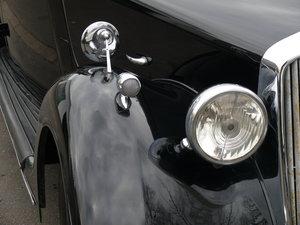 1946 Rover P2 4 light sportsaloon