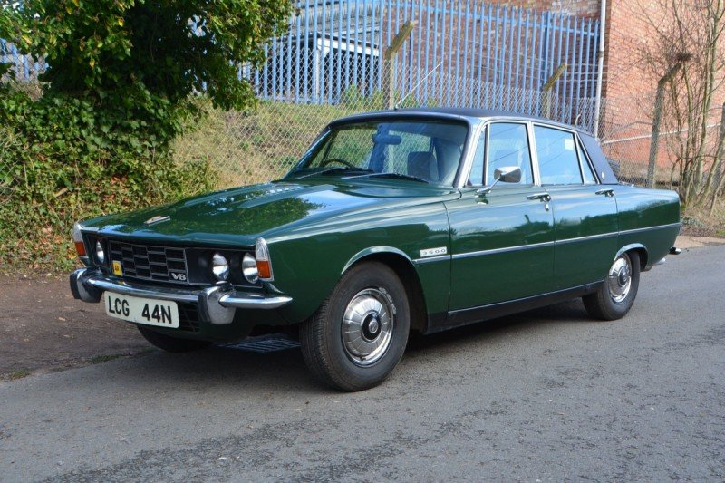 1975 Rover P6 3500 Automatic For Sale by Auction (picture 1 of 1)