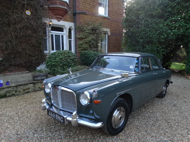 1962 ROVER 3 LITRE SOLD (picture 1 of 6)
