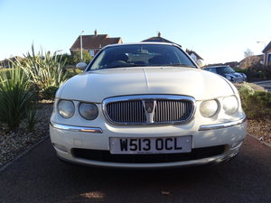 2000 Rover 75 V6 Petrol, OLD ENGLISH WHITE.