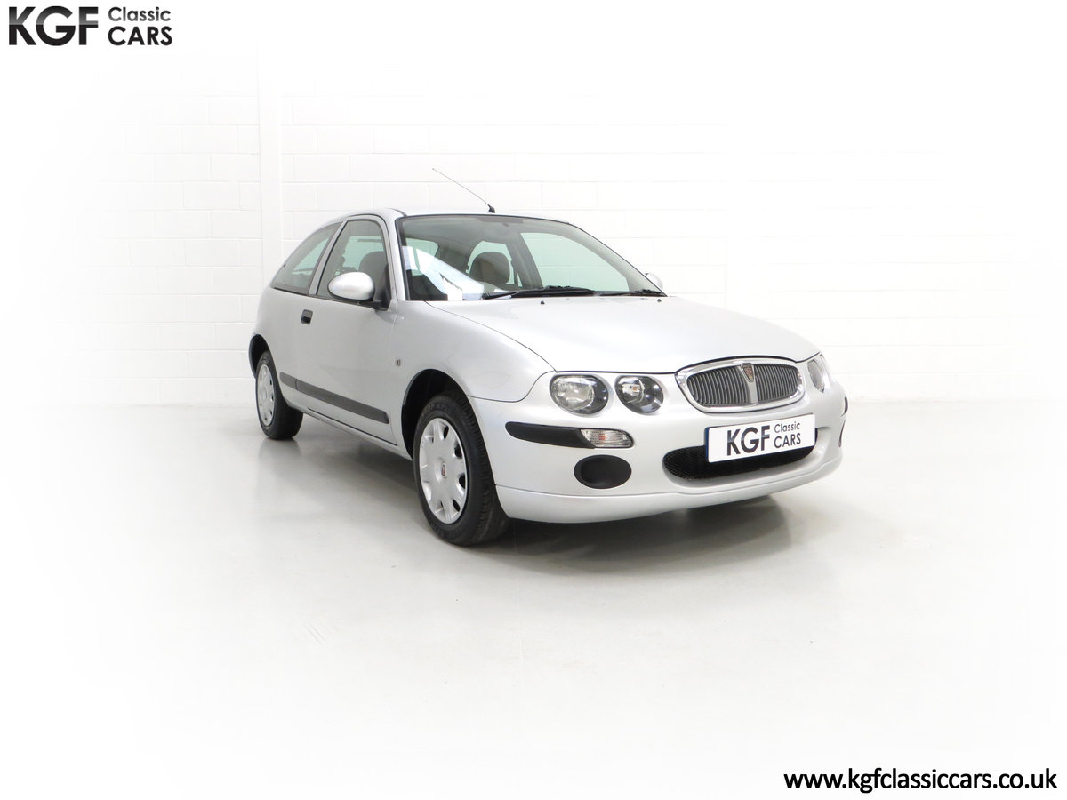 2004 A Time Warp Rover 25iL 1.4 16v With 5,422 Miles SOLD (picture 1 of 6)
