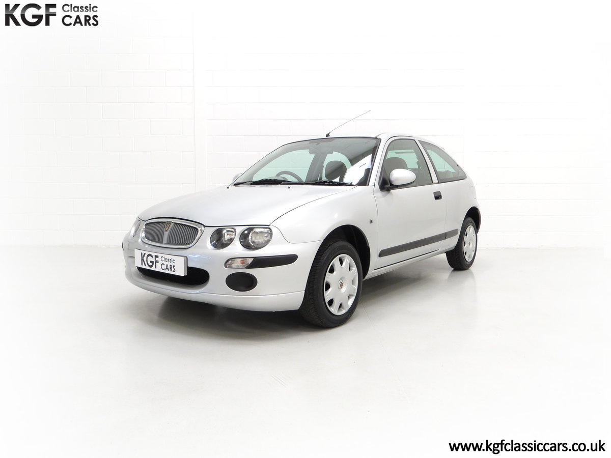 2004 A Time Warp Rover 25iL 1.4 16v With 5,422 Miles SOLD (picture 2 of 6)