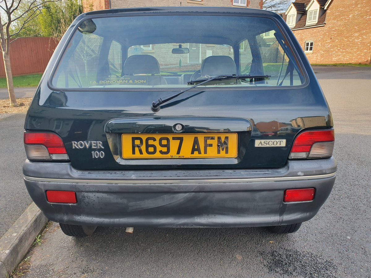 1998 Rover metro 100 ascot For Sale (picture 6 of 6)