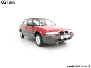 1993 An Outstanding Rover 214SEi with Only 13,187 Miles SOLD