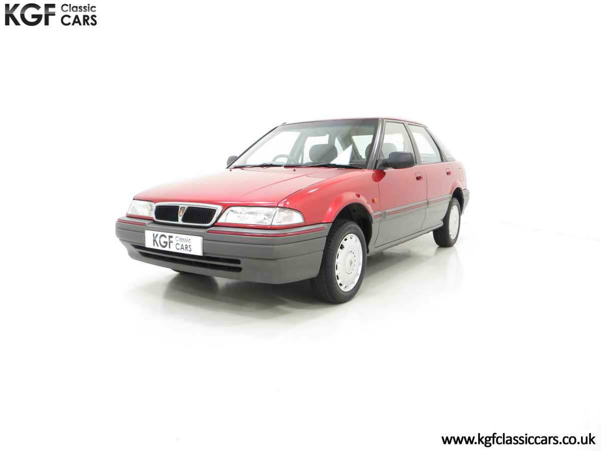 1993 An Outstanding Rover 214SEi with Only 13,187 Miles For Sale (picture 2 of 6)