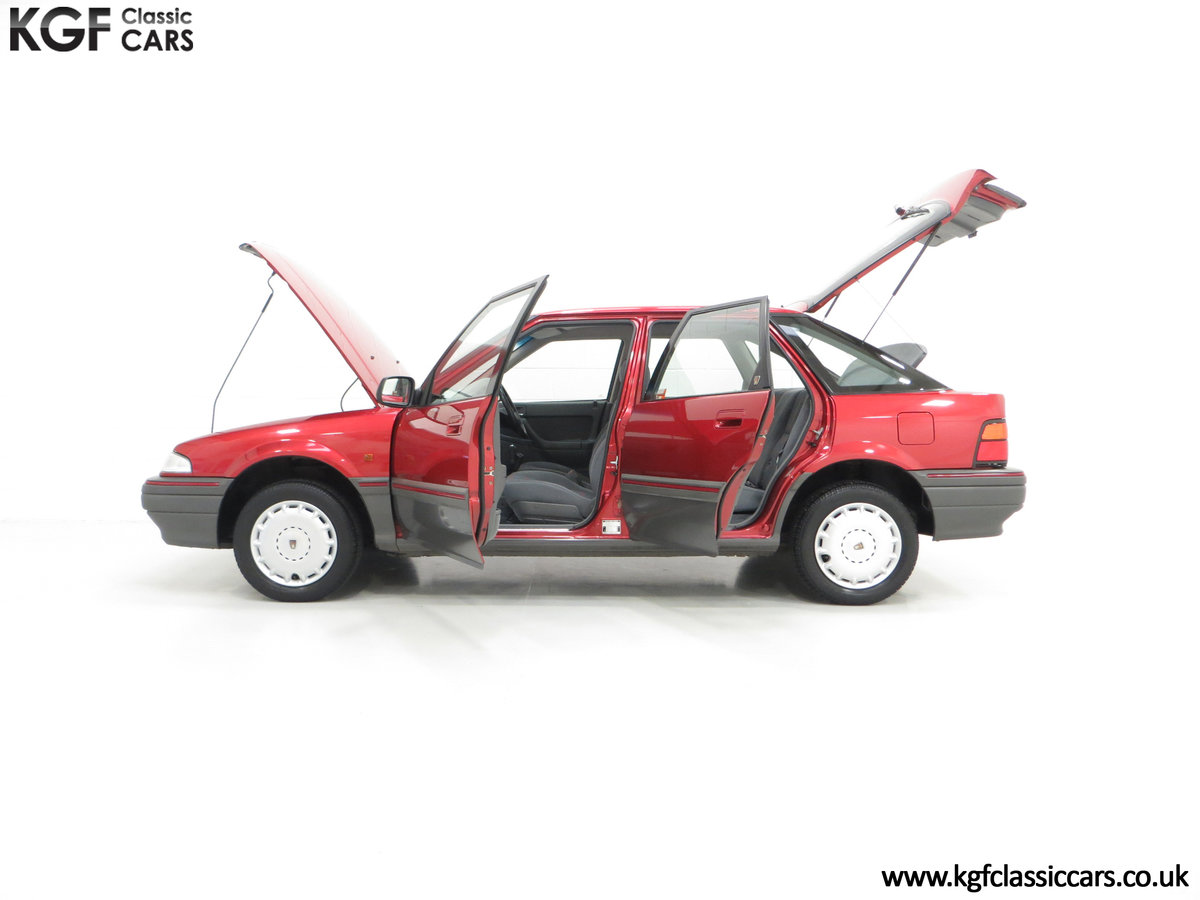 1993 An Outstanding Rover 214SEi with Only 13,187 Miles For Sale (picture 3 of 6)