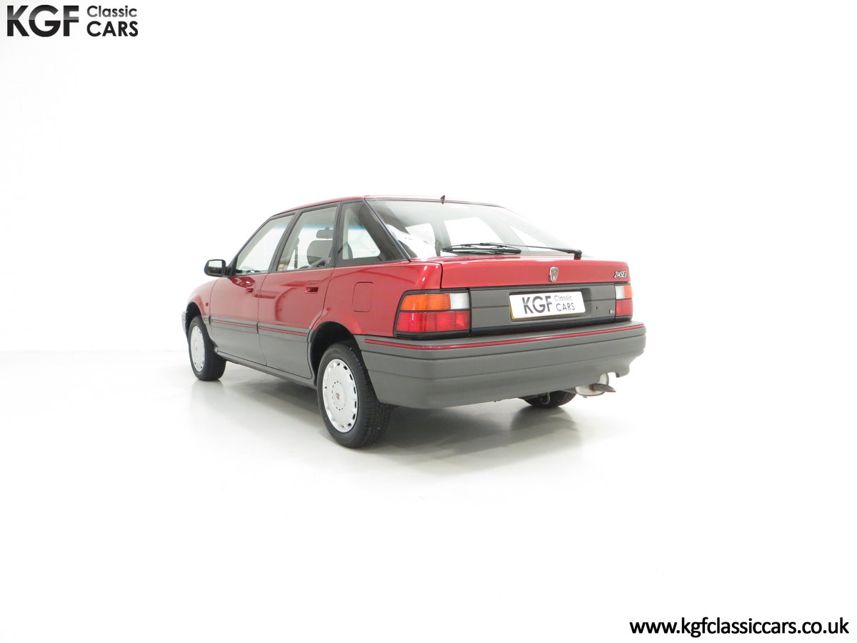 1993 An Outstanding Rover 214SEi with Only 13,187 Miles For Sale (picture 4 of 6)