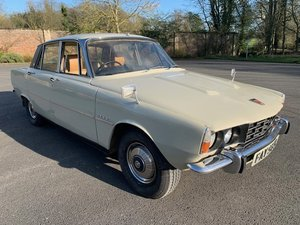 1972 Rover P6 SOLD by Auction