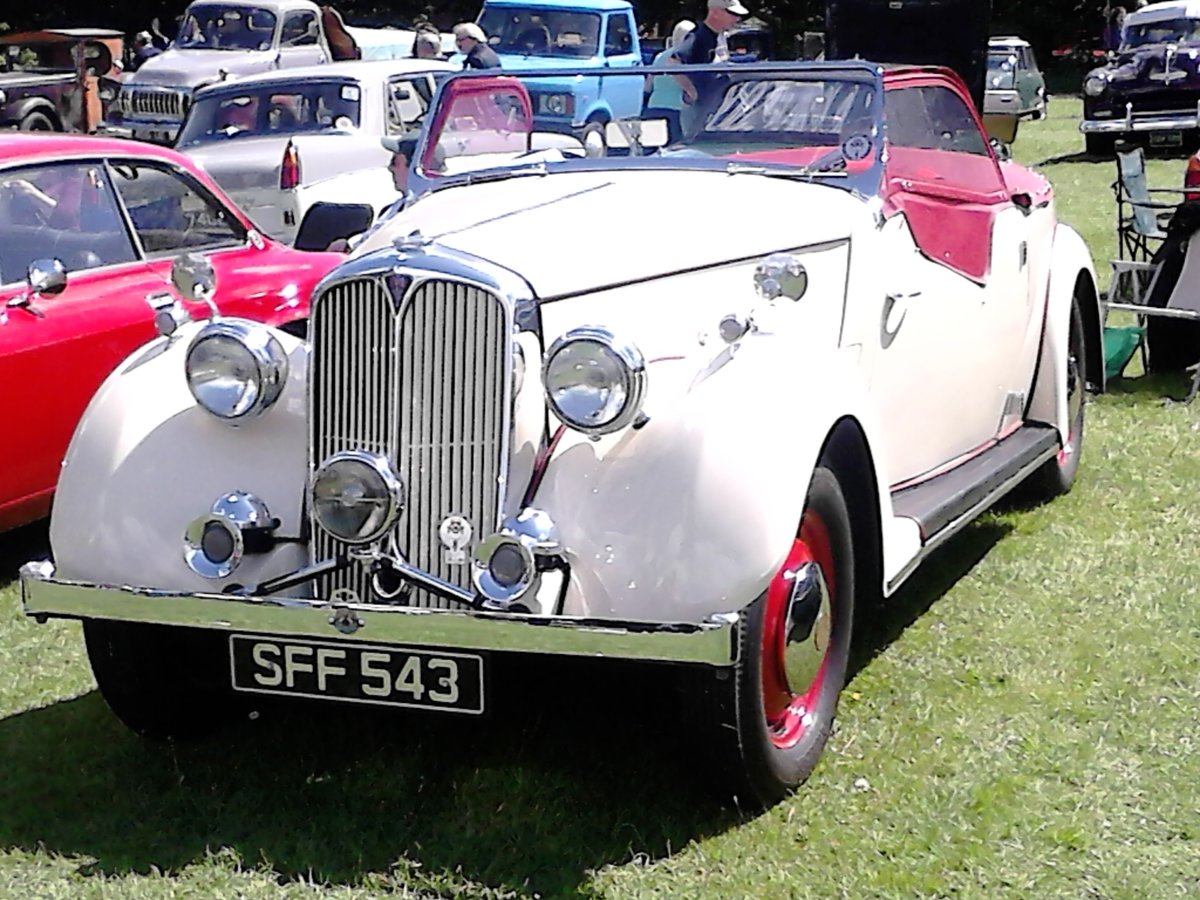 1947 Rover 12, P2 Sport Tourer For Sale (picture 1 of 6)