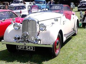 1947 Rover 12, P2 Sport Tourer
