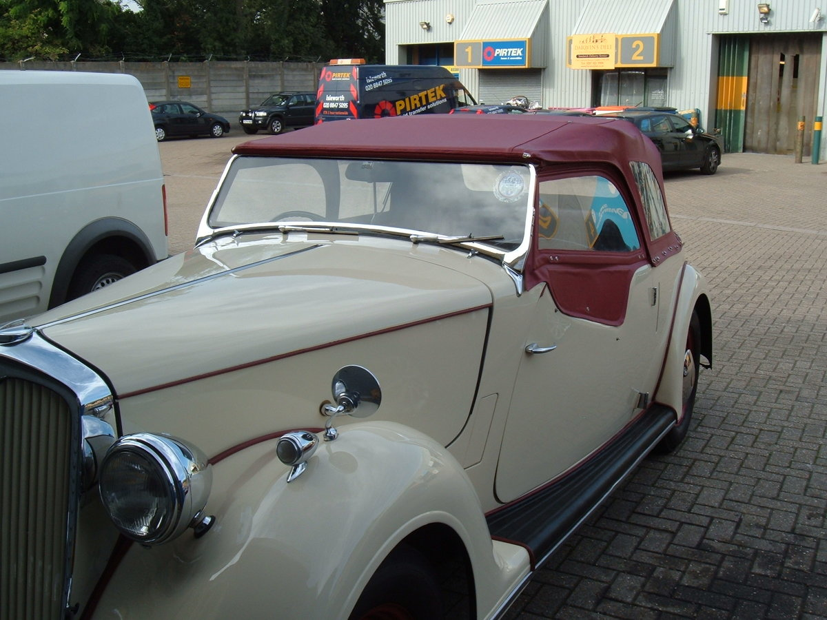 1947 Rover 12, P2 Sport Tourer For Sale (picture 3 of 6)