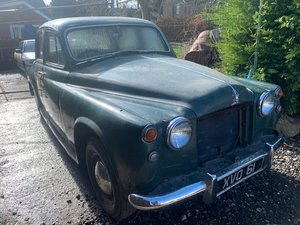 1957 Rover P4 SOLD by Auction