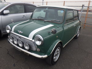 1996  ROVER MINI COOPER 35TH ANNIVERSARY EDITION AUTOMATIC 46K