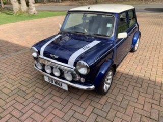 1999 Classic Tahiti blue Rover Mini Cooper 1275cc  For Sale (picture 3 of 6)