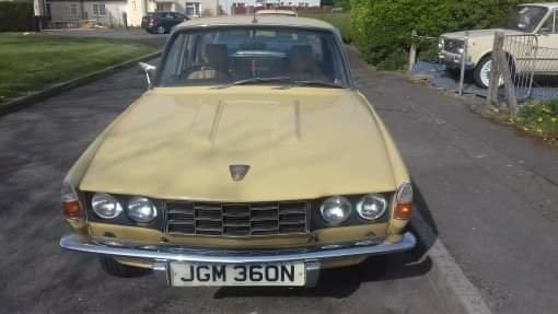 1975 Rover p6 2200 sc