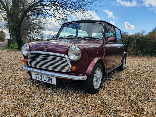1989 30th Birthday Limited Edition Austin Mini Thirty in Burgundy For Sale (picture 1 of 6)