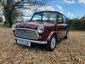 1989 30th Birthday Limited Edition Austin Mini Thirty in Burgundy For Sale