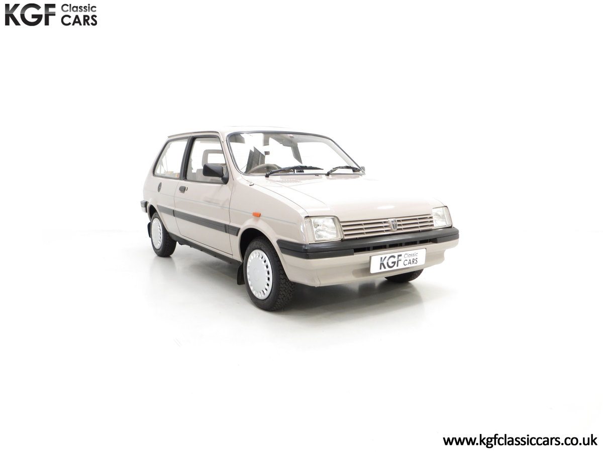 1989 A Rover Metro 1.3 L Clubman with Just 21,320 Miles. SOLD (picture 1 of 24)
