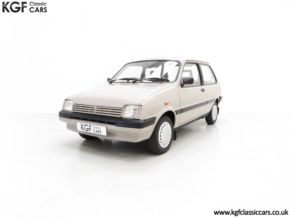 1989 A Rover Metro 1.3 L Clubman with Just 21,320 Miles. For Sale (picture 2 of 6)