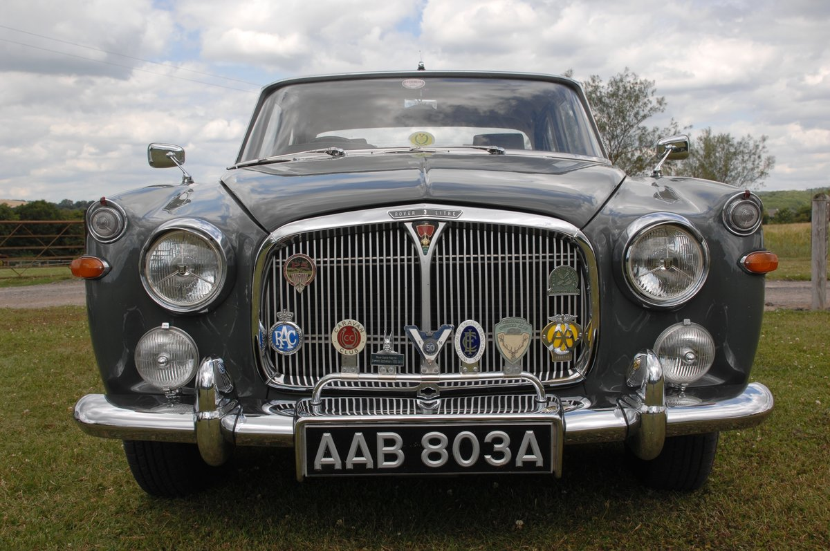 1963 Rover 3 litre P5 Coupe' For Sale (picture 4 of 6)