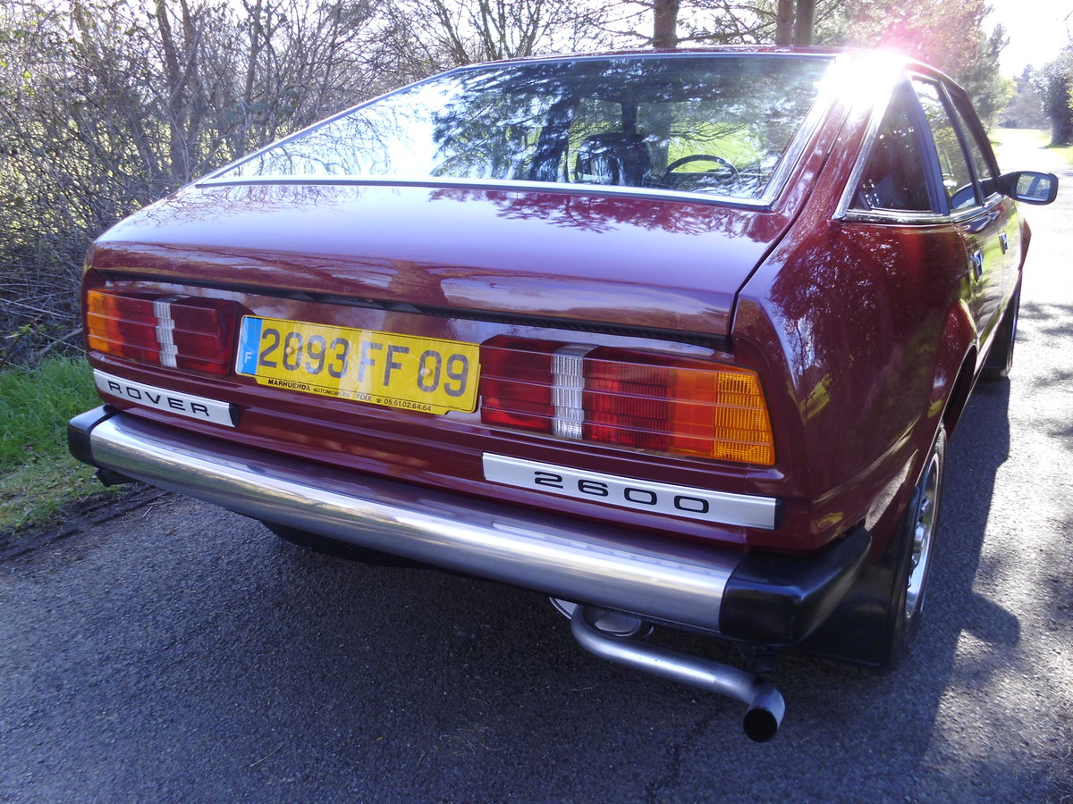DELIVERY AVALIABLE WITHIN 3DAYS 1980 ROVER 2600SD1 For Sale (picture 4 of 6)