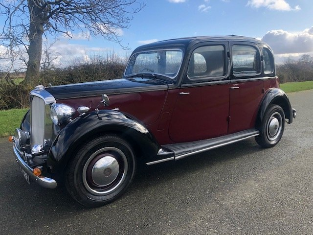 1949 Rover 75 P3 Saloon SOLD (picture 1 of 6)