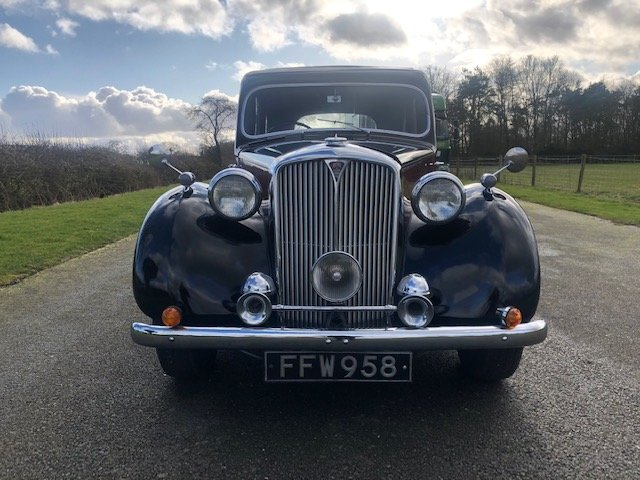 1949 Rover 75 P3 Saloon SOLD (picture 2 of 6)