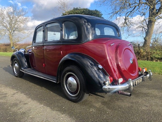 1949 Rover 75 P3 Saloon SOLD (picture 4 of 6)
