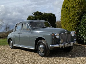 1962  Rover 80 P4. Only 1 Previous Owner. 1st Owner 44 years.