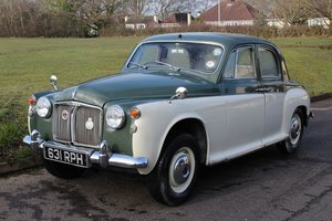 Rover 80 1960 - To be auctioned  For Sale by Auction