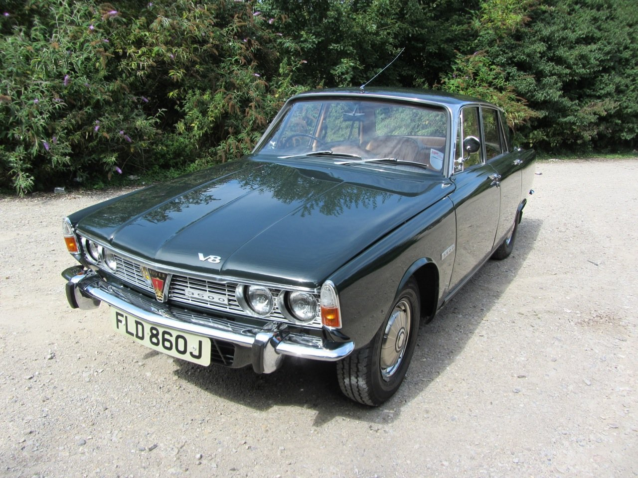 1970 Rover P6 Saloon Automatic  SOLD (picture 1 of 6)