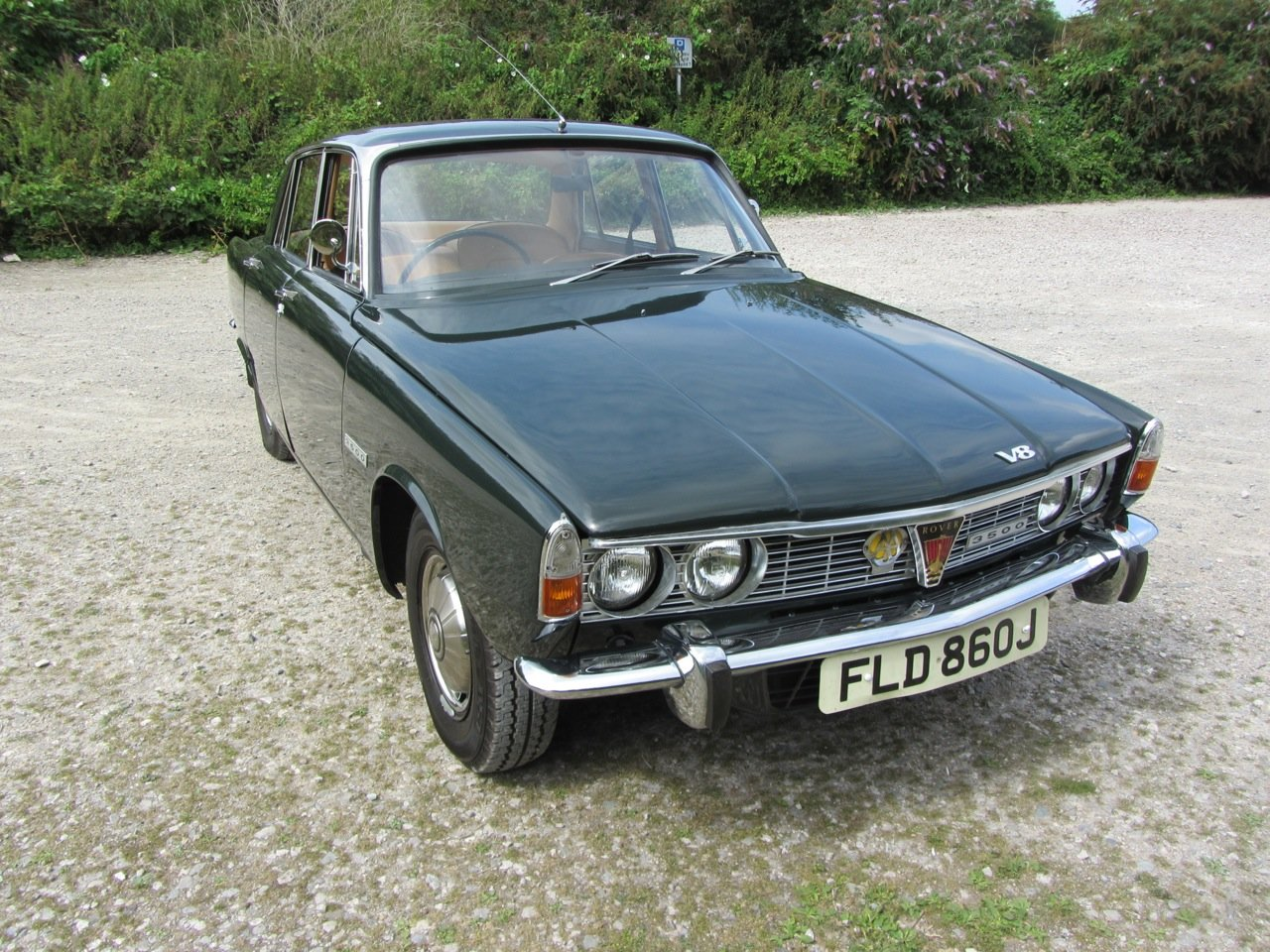 1970 Rover P6 Saloon Automatic  SOLD (picture 2 of 6)