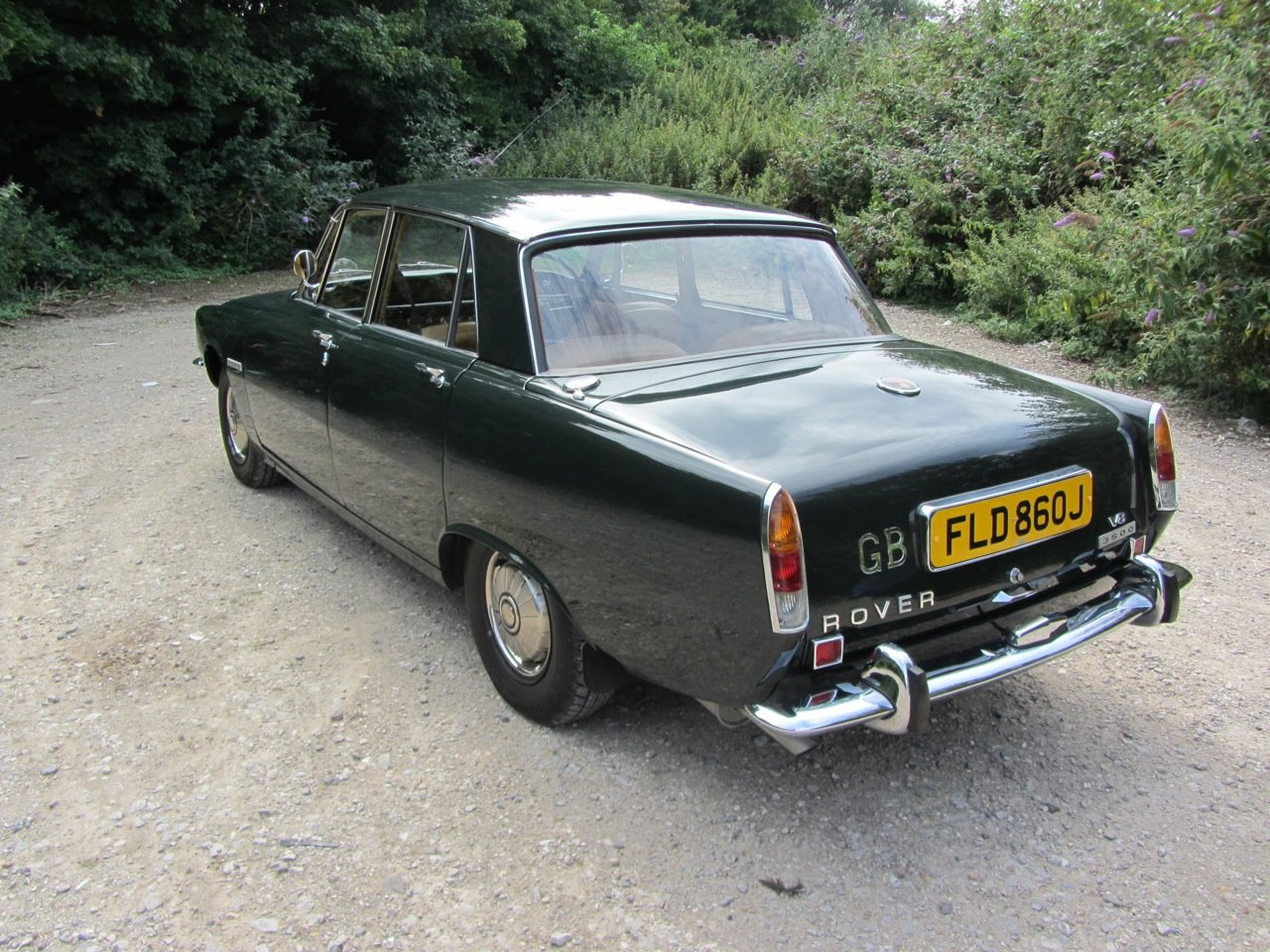 1970 Rover P6 Saloon Automatic  SOLD (picture 3 of 6)