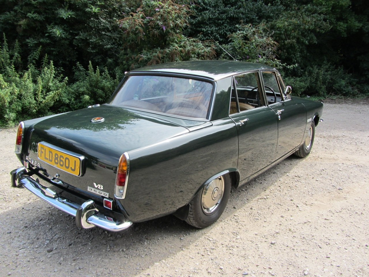 1970 Rover P6 Saloon Automatic  SOLD (picture 4 of 6)