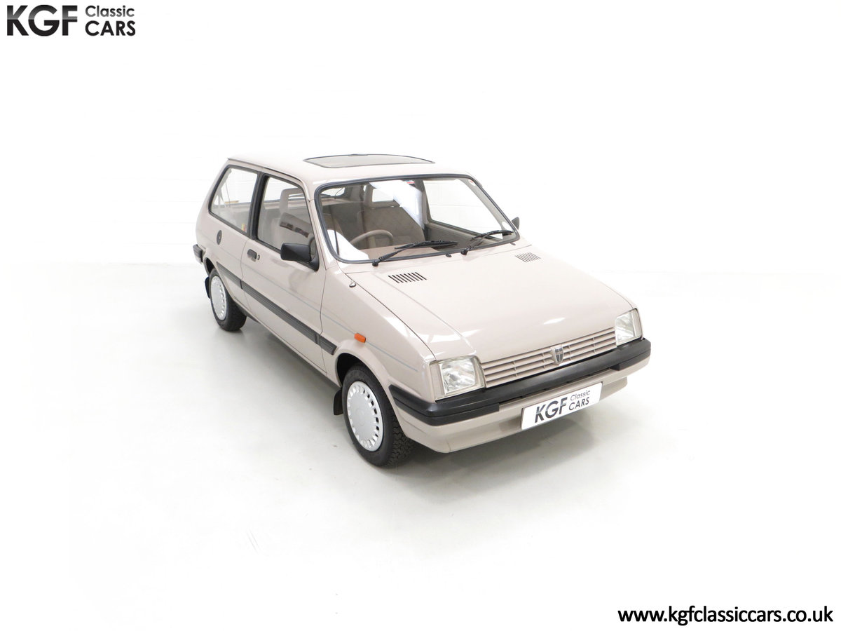 1989 A Rover Metro 1.3 L Clubman with Just 21,320 Miles. SOLD (picture 2 of 24)