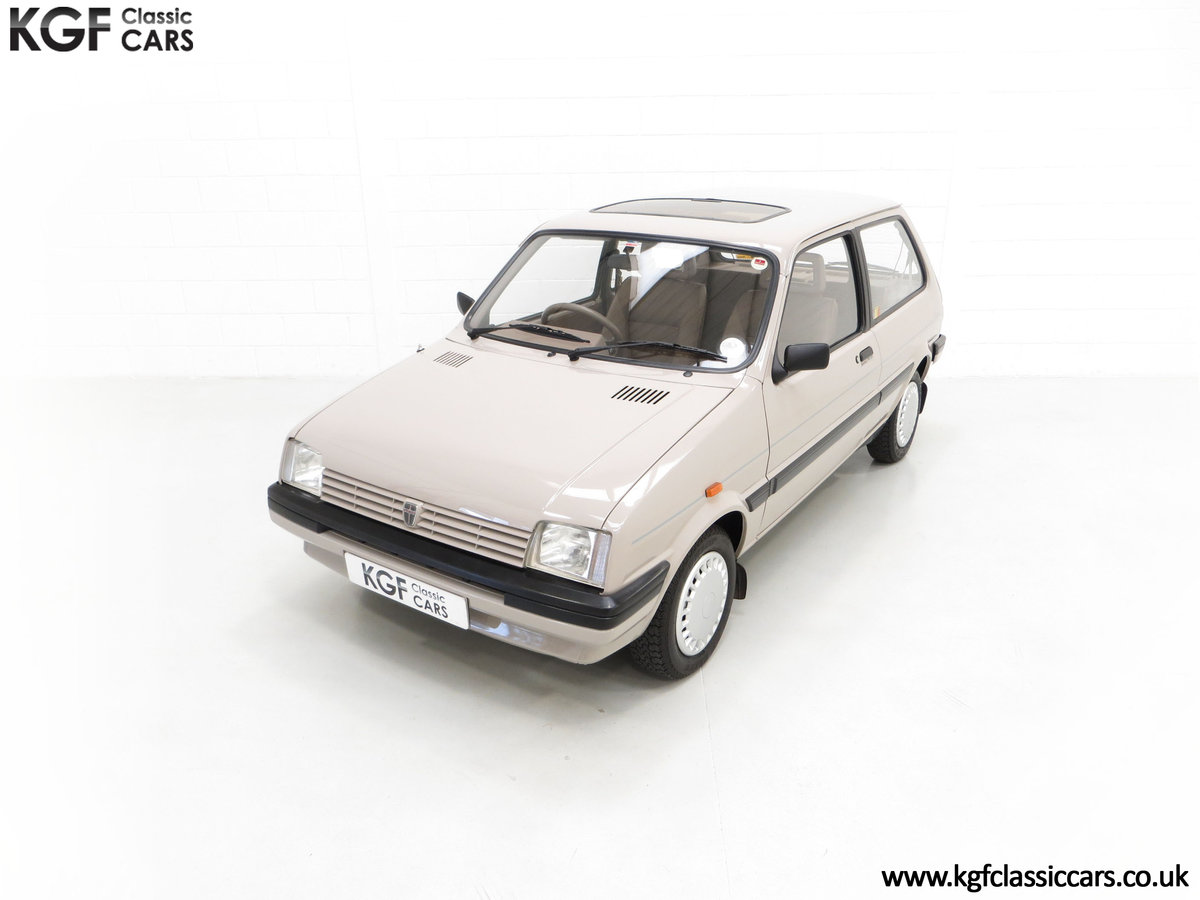 1989 A Rover Metro 1.3 L Clubman with Just 21,320 Miles. SOLD (picture 5 of 24)