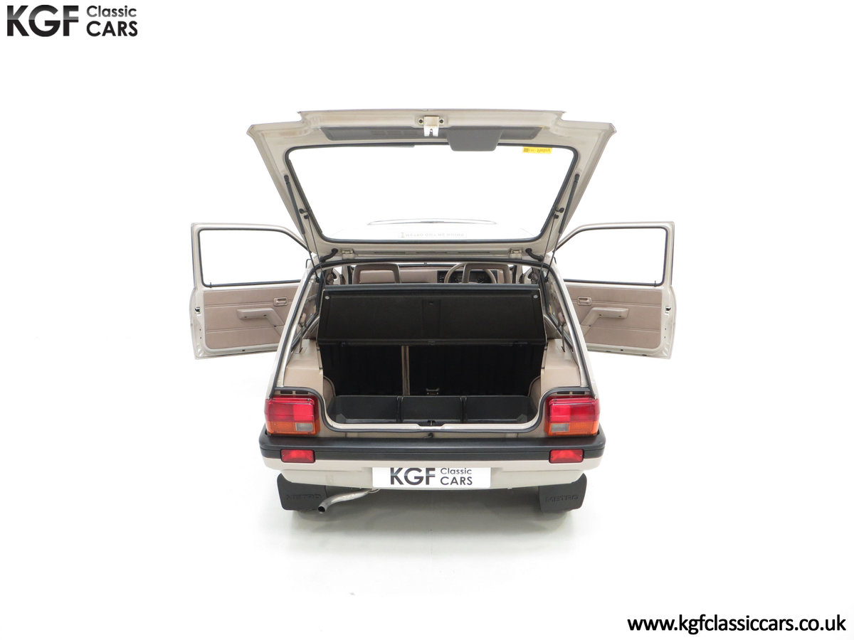 1989 A Rover Metro 1.3 L Clubman with Just 21,320 Miles. SOLD (picture 11 of 24)