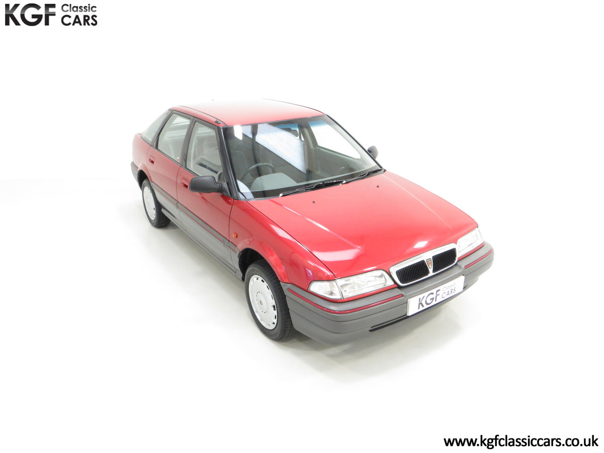 1993 An Outstanding Rover 214SEi with Only 13,187 Miles SOLD (picture 2 of 24)