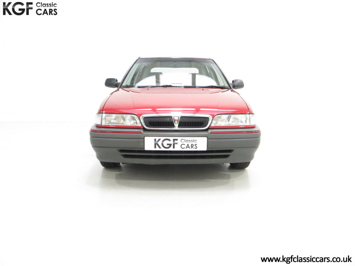 1993 An Outstanding Rover 214SEi with Only 13,187 Miles SOLD (picture 3 of 24)