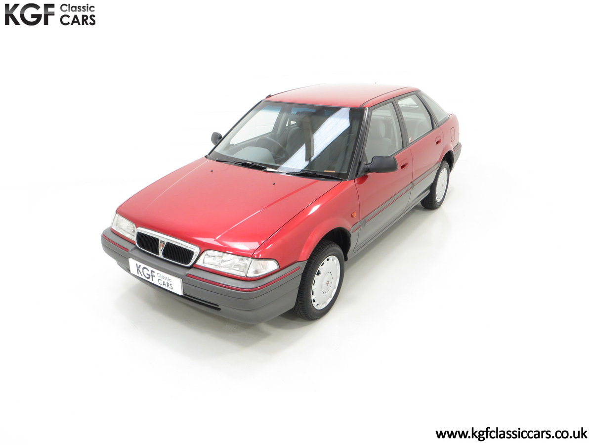 1993 An Outstanding Rover 214SEi with Only 13,187 Miles SOLD (picture 5 of 24)