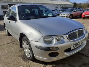 2002 ROVER 25 1.4 ONLY 65K MILES ~ NOT USED FOR OVER 4 YEARS ~ SP