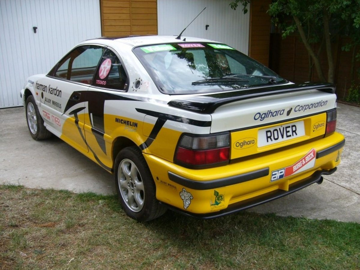 1991 Ex - Works Rover Factory Tom Cat 220 Turbo Coupe For Sale (picture 5 of 6)