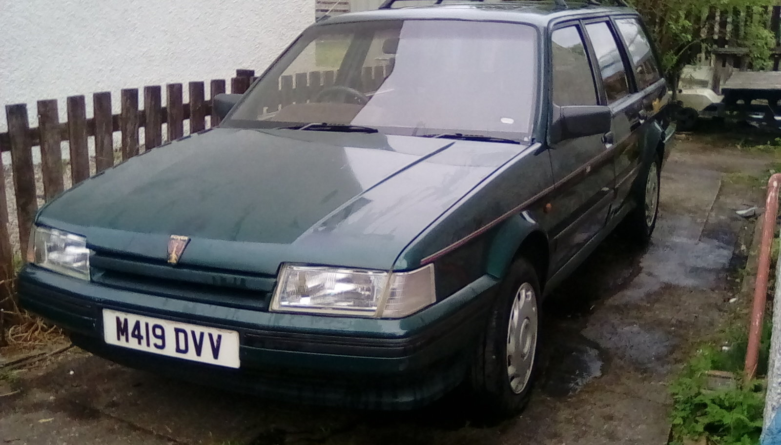 Rover Montego turbo diesel estate 1994 MOT August SOLD (picture 1 of 6)