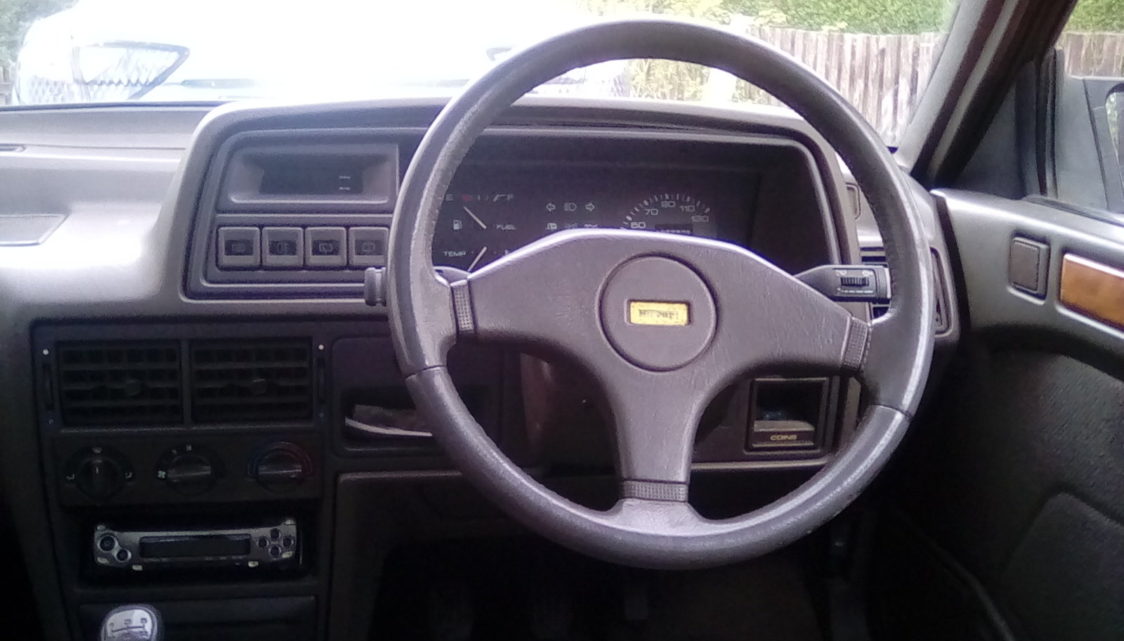 Rover Montego turbo diesel estate 1994 MOT August SOLD (picture 5 of 6)