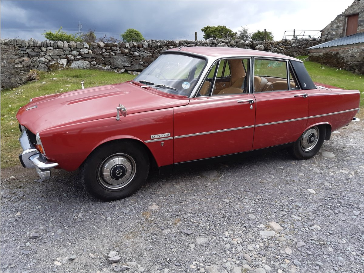 1972 Rover p6 V8  For Sale (picture 1 of 5)
